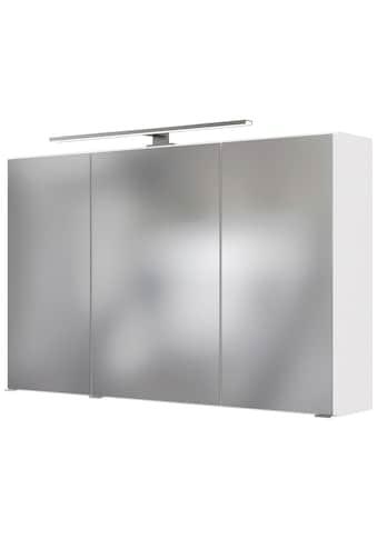 HELD MÖBEL Spiegelschrank »Matera«, Breite 100 cm, mit 6 verstellbaren Glasböden kaufen