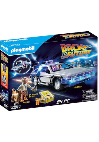Playmobil® Konstruktions-Spielset »Back to the Future DeLorean (70317),Playmobil Back to the Future«, Made in Germany kaufen