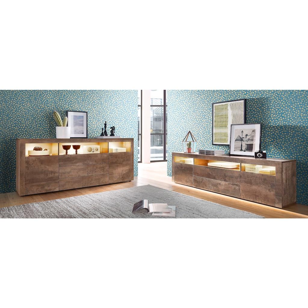 borchardt Möbel Lowboard, Breite 166 cm