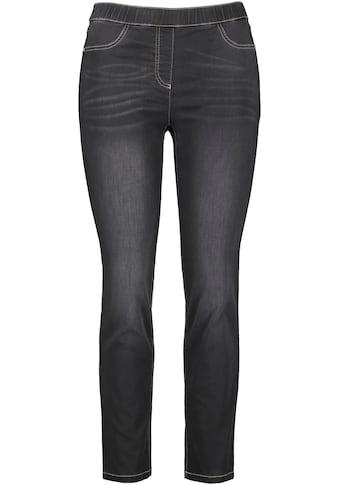 Samoon Jeansjeggings »Lucy«, mit elastischem Bund kaufen