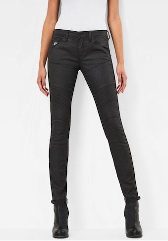 G-Star RAW Skinny-fit-Jeans »5620 Custom Mid Waist Skinny«, dein Hybrid aus... kaufen