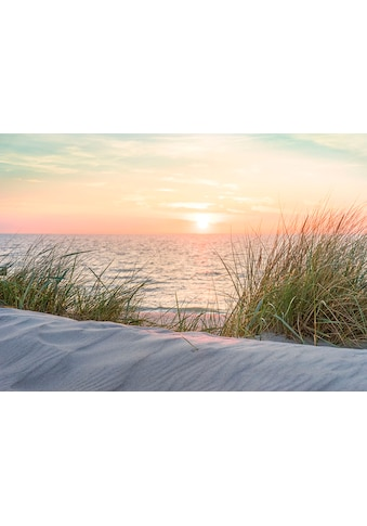 CONSALNET Fototapete »Sonnenuntergang Strand«, Papier, in verschiedenen Größen kaufen