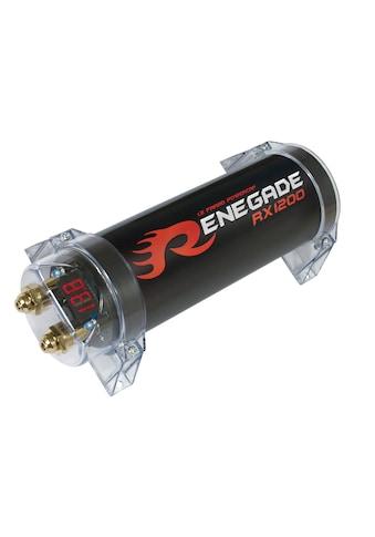 Renegade Pufferelektrolytkondensator für den Einbau in Kfz, 1,2 Farad »RX1200«, (ein... kaufen