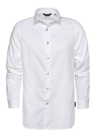 CODE-ZERO Langarmhemd »Oxford«, Applikationen kaufen