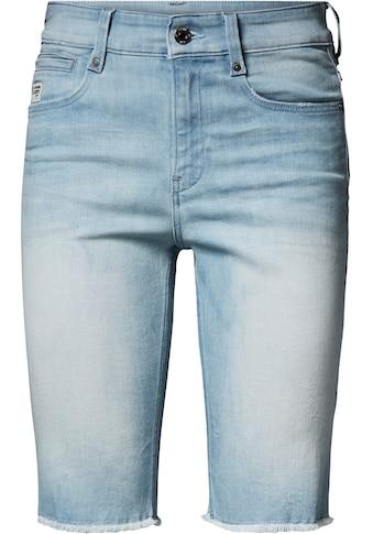 G - Star RAW Jeansbermudas »4311 Noxer High Slim Short« kaufen