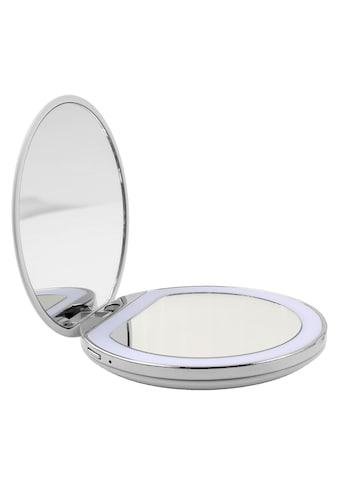 AILORIA Kosmetikspiegel »MAQUILLAGE«, (1 St.), Taschenspiegel mit LED-Beleuchtung (USB) kaufen