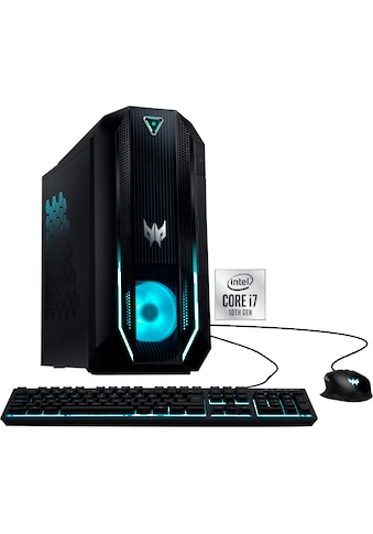Acer »Predator Orion 3000 (PO3 - 620)« Gaming - PC (Intel®, Core i7, GTX 1660 SUPER, Luftkühlung) kaufen