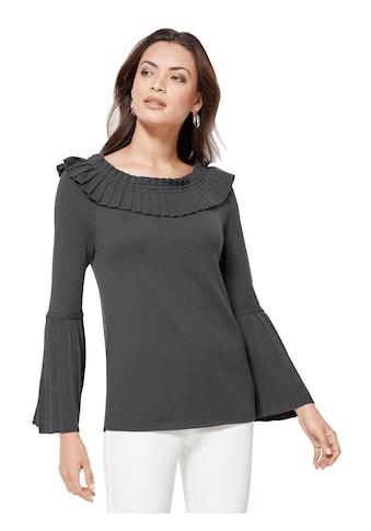 Creation L Pullover in hochwertiger Schurwoll - Seide - Mischung kaufen
