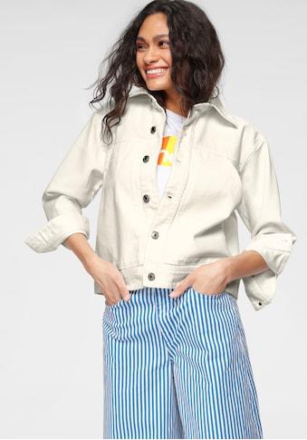 United Colors of Benetton Jeansjacke, mit großzügigen Eingrifftaschen kaufen