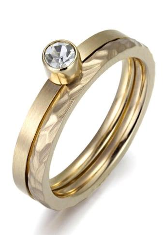 Firetti Ring-Set »4,0 mm, matt- und glanzoptik, einzeln tragbar«, (Set, 2 tlg.), mit... kaufen