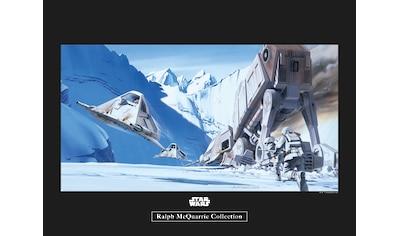 Komar Poster »Star Wars Classic RMQ Hoth Battle Snowspeeder«, Star Wars kaufen