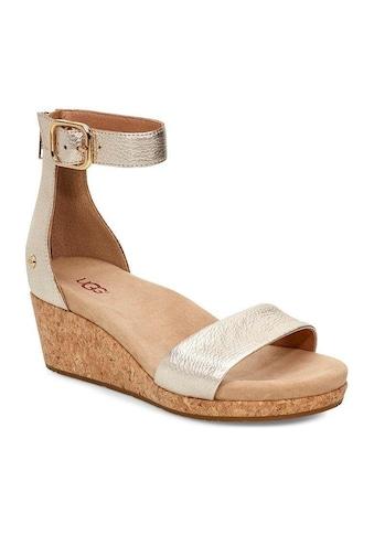 UGG Sandalette »Zoe II Metallic«, im Metallic-Look kaufen