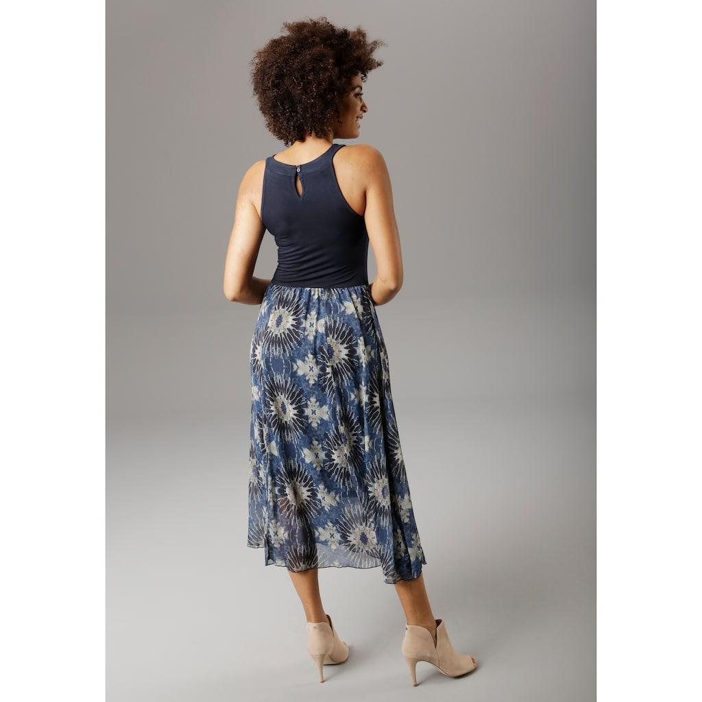 Aniston SELECTED Sommerkleid, im modischen Batik-Druck - NEUE KOLLEKTION