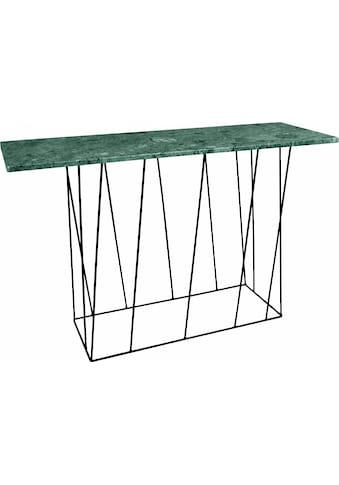 TemaHome Konsolentisch »Helix«, aus Marmor, wahlweise mit Gestell aus schwarzem oder grünem Metall kaufen