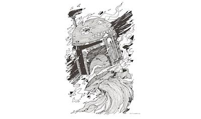 Komar Wandbild »Star Wars Boba Fett Drawing« kaufen