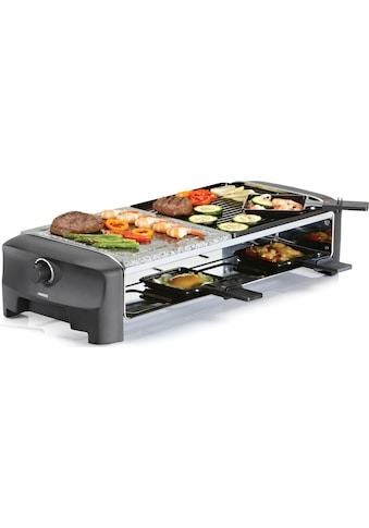 PRINCESS Raclette »8 Stone & Grill Party 162820«, 8 St. Raclettepfännchen, 1300 W kaufen