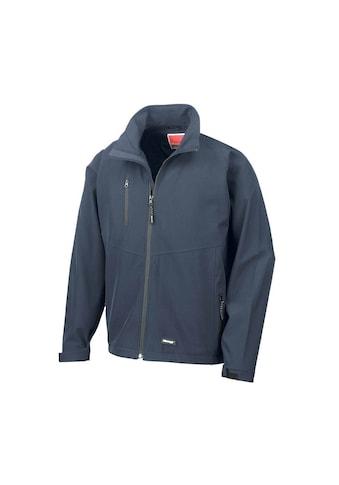 Result Softshelljacke »Herren Softshell-Jacke, zweilagig, wasserabweisend, atmungsaktiv« kaufen