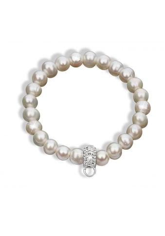 Nenalina Perlenarmband »Süßwasserperle Kristalle 925 Silber« kaufen