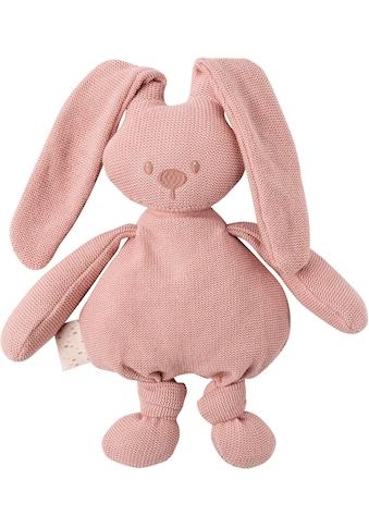 Nattou Kuscheltier »lapidou cuddly cotton Hase, rosa« kaufen