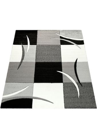 Paco Home Teppich »Diamond 665«, rechteckig, 17 mm Höhe, 3D-Design, Kurzflor mit... kaufen
