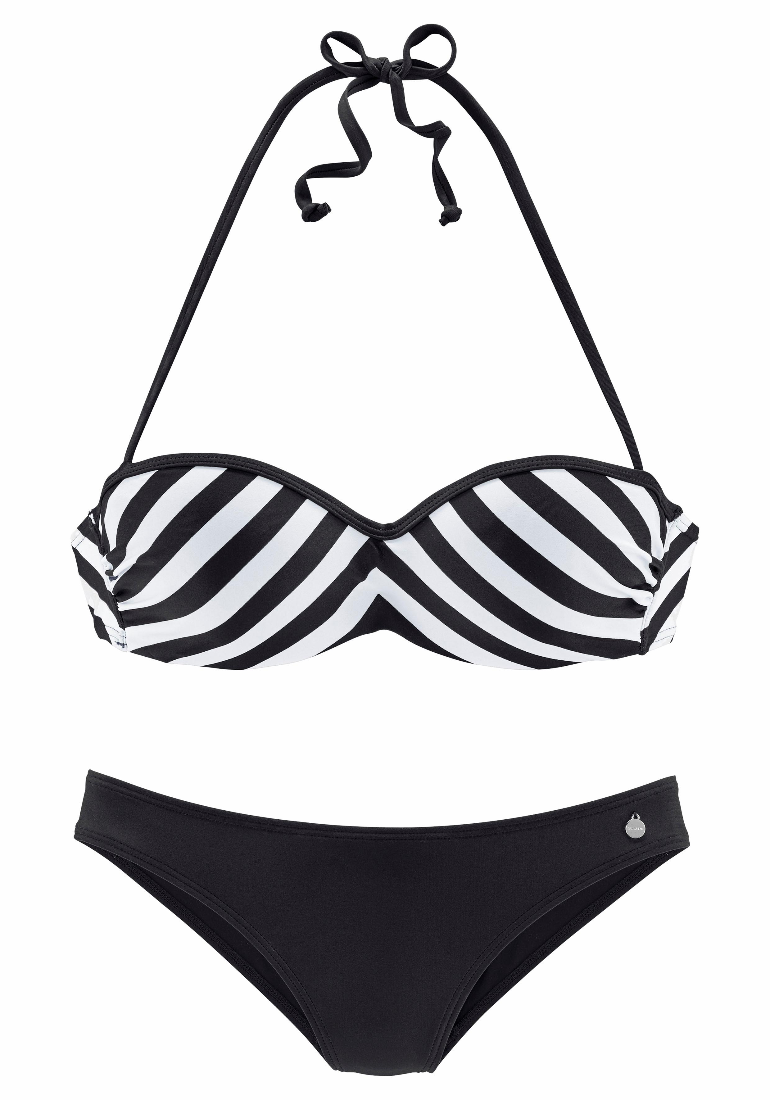 LASCANA Bügel-Bandeau-Bikini »Scandal«