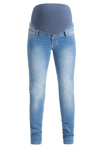 Noppies Skinny Umstandsjeans »Avi Aged Blue« kaufen