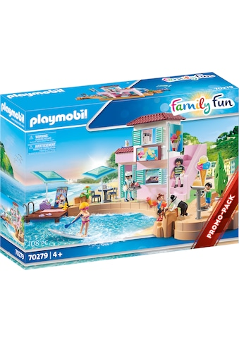 Playmobil® Konstruktions-Spielset »Eisdiele am Hafen (70279), Family Fun«, ; Made in Germany kaufen