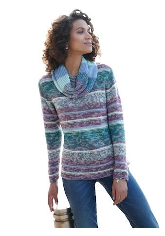 Casual Looks Pullover im schön gestalteten Streifendessin kaufen