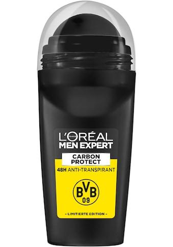 "L'ORÉAL PARIS MEN EXPERT Deo - Roller ""Carbon Protect Anti - Transpirant Deo Roll - On BVB Edition"" kaufen"