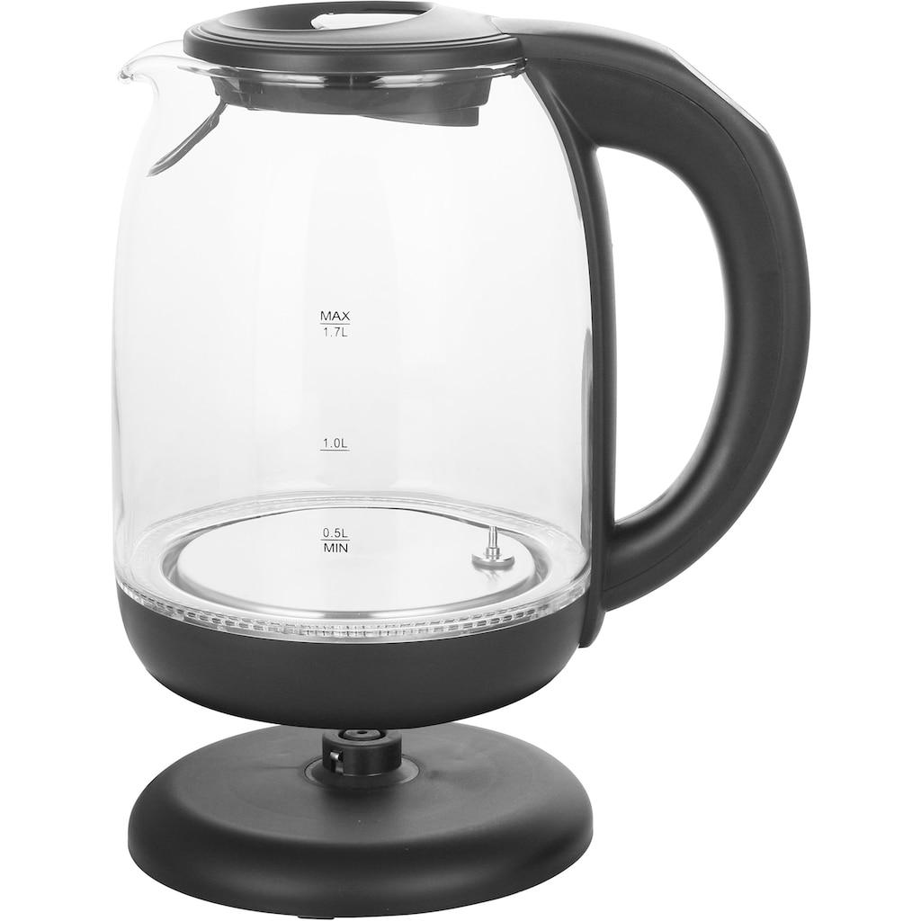 Emerio Wasserkocher »WK-119255«, 1,7 l, 2200 W