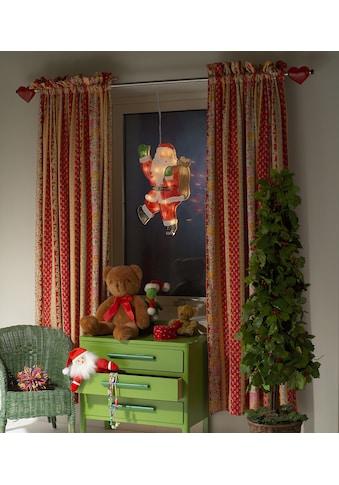 KONSTSMIDE Fensterbild, LED Fensterbild, Weihnachtsmann kaufen