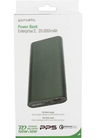 4smarts Schnelllade-Gerät »Powerbank Enterprise 2 20000mAh 130W & QC3.0« kaufen