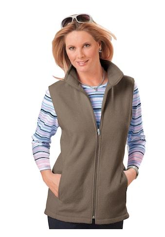 Classic Basics Fleece - Weste mit formgebenden Prinzessnähten kaufen