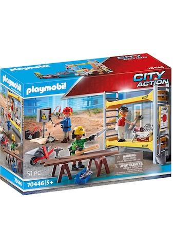 """Playmobil® Konstruktions - Spielset """"Baugerüst mit Handwerkern (70446), City Action"""" kaufen"""