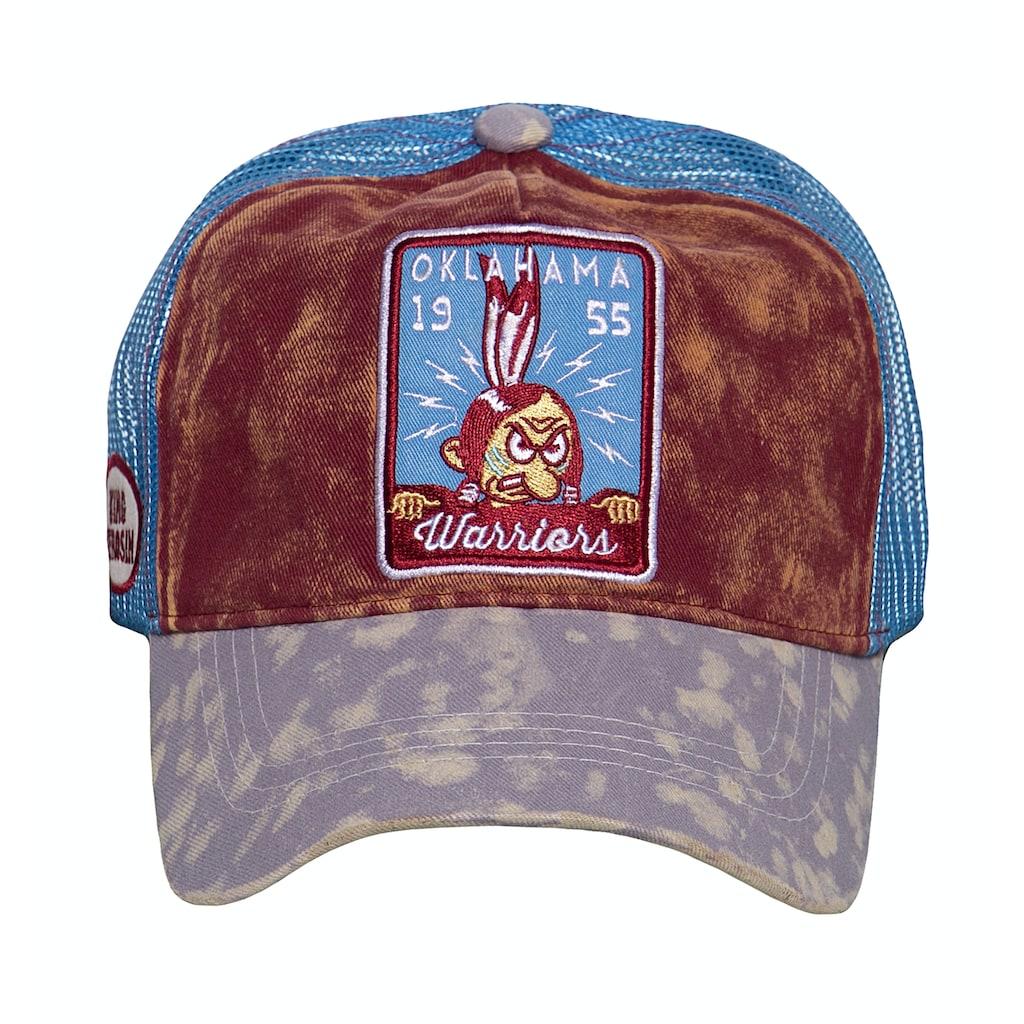 KingKerosin Trucker Cap »Oklahoma W.«, in Vintage-Optik