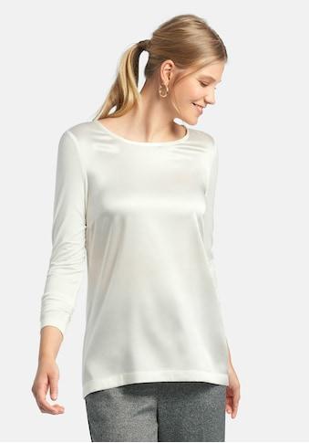 Peter Hahn Langarmbluse »Blusen-Shirt«, aus Seide kaufen