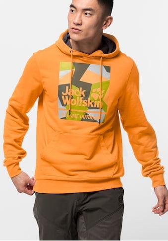 Jack Wolfskin Kapuzensweatshirt »365 HIDEAWAY HOODY M« kaufen