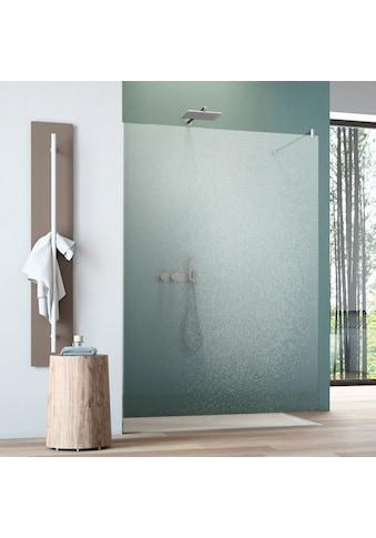 maw Walk-in-Dusche »flex A-W001C«, BxH: 90 x 200 cm, Crash-Glas klar kaufen
