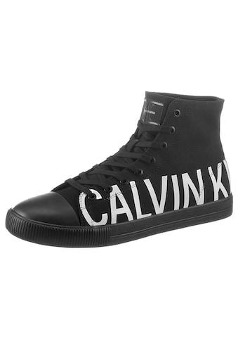 Calvin Klein Sneaker, mit gummierter Schuhspitze kaufen