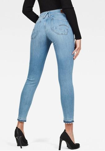 G-Star RAW Skinny-fit-Jeans »Lynn Mid Waist Skinny Ripped«, Ankle Jeans mit... kaufen