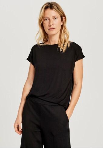 OPUS T-Shirt »Salmi«, mit schöner Knopfleiste am Rücken kaufen