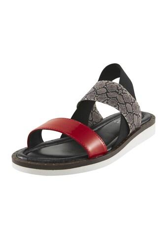 Sandalette mit elastischen Bändern kaufen