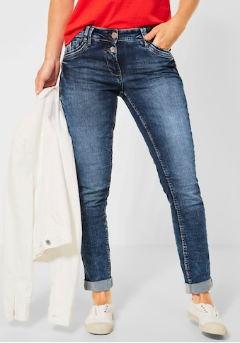 Cecil Slim-fit-Jeans »Style Scarlett«, mit Used-Waschung kaufen