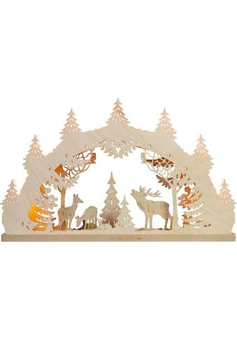 Weigla Schwibbogen »Hirschfamilie«, 7-flammig kaufen