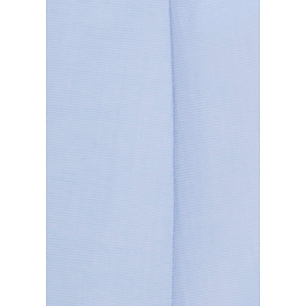 Seidensticker schwarze Rose Klassische Bluse, unifarben, mit langen Ärmeln