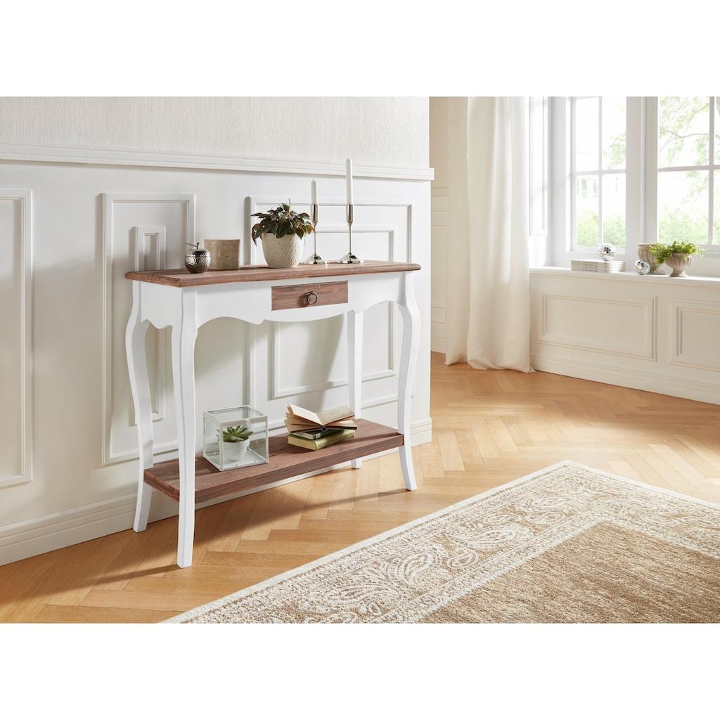 Konsolentisch »Paris«, mit Schublade, Breite 91 cm