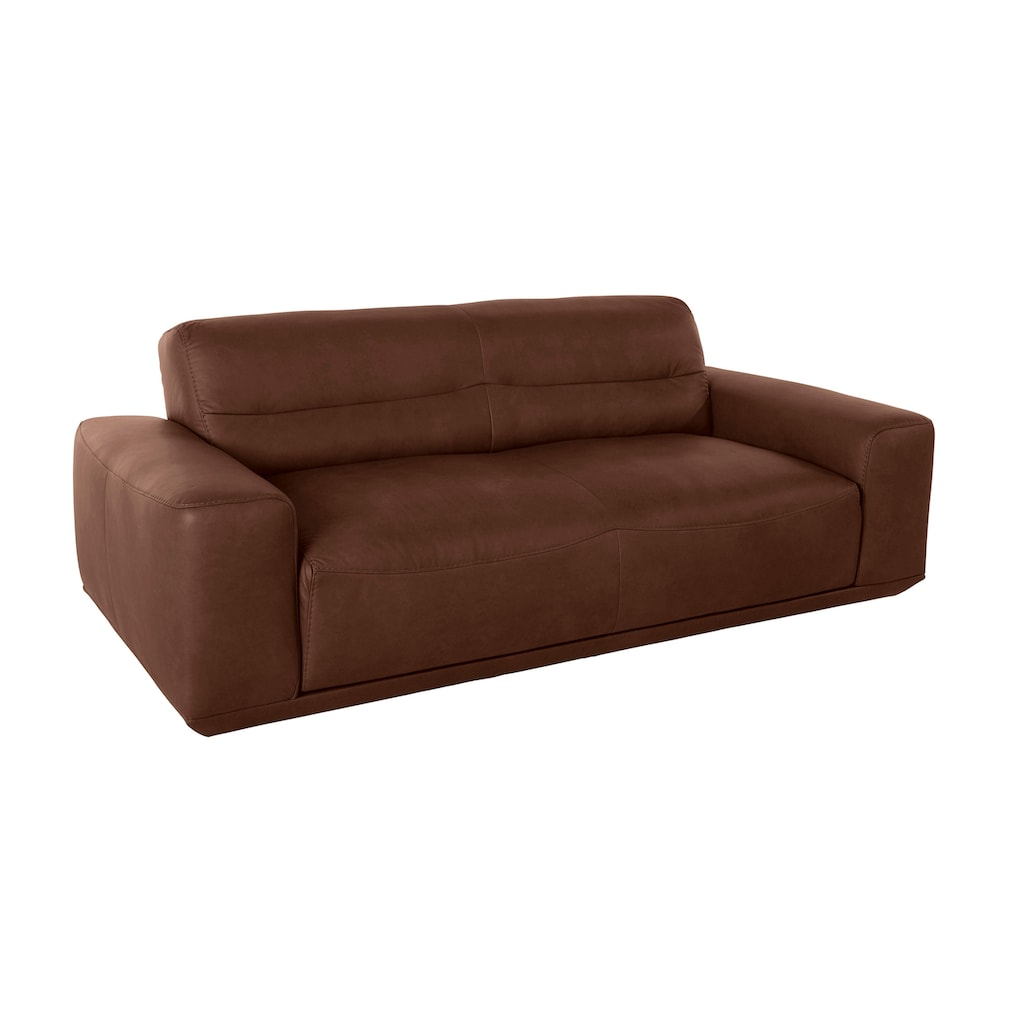 W.SCHILLIG 2,5-Sitzer »william«, Ledersofa, wahlweise mit Sitztiefenverstellung, Breite 206 cm