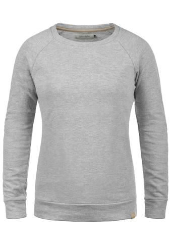 Blendshe Sweatshirt »Kim«, Sweatpullover in Melange Optik kaufen