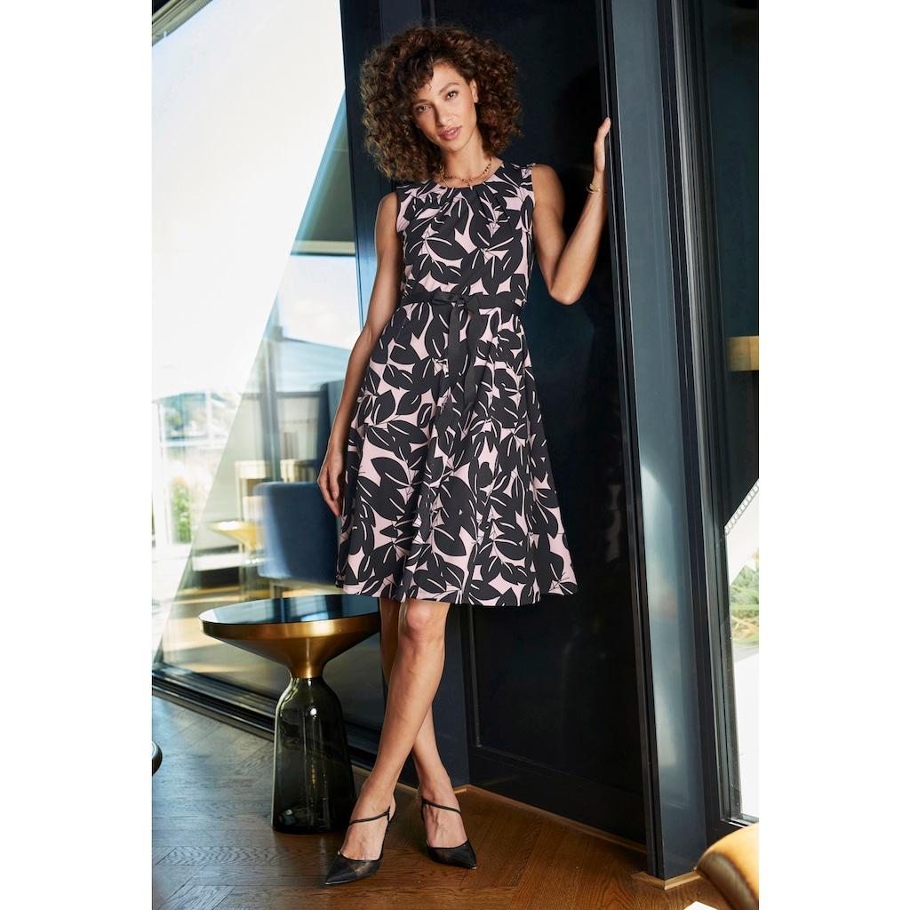 Aniston SELECTED Sommerkleid, mit Bindeband in der Taille - NEUE KOLLEKTION