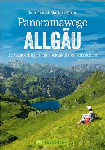 Buch »Panoramawege Allgäu / Markus und Janina Meier« kaufen